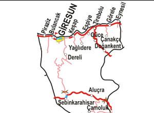 Giresun Haritası