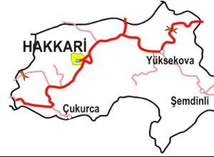 Hakkari Haritası