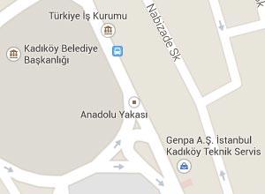 İstanbul (Anadolu) Haritası