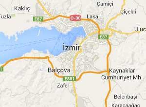 İzmir Haritası