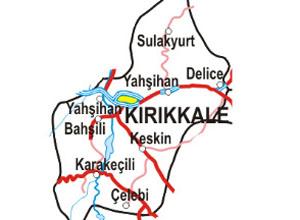 Kırıkkale Haritası