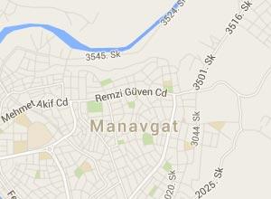 Manavgat Haritası