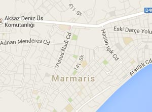 Marmaris Haritası