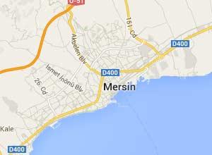Mersin Haritası