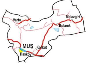 Muş Haritası