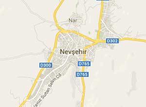 Nevşehir Haritası