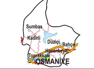 Osmaniye Haritası