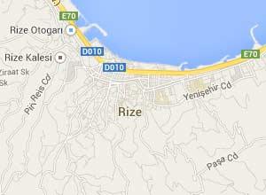Rize Haritası