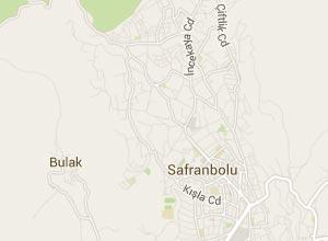 Safranbolu Haritası
