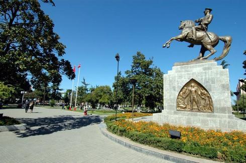 Atatürk Heykeli, Samsun