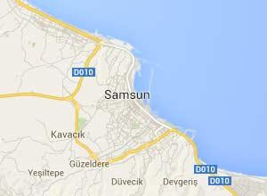 Samsun Haritası