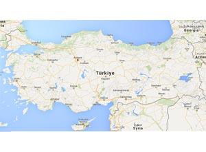 Şarkikaraağaç Haritası
