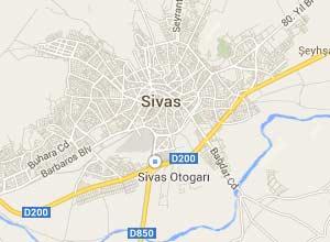Sivas Haritası