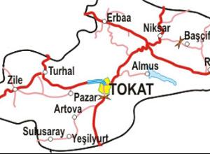 Tokat Haritası